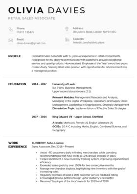 "The ""Corporate"" CV Template"