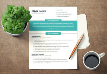 How to write a CV featured image.